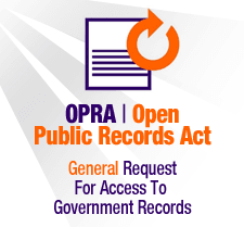 OPRA - General Request for Access to Government Records (PDF)