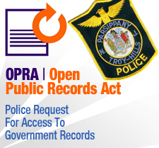 OPRA - Police Request for Access to Government Records (PDF)