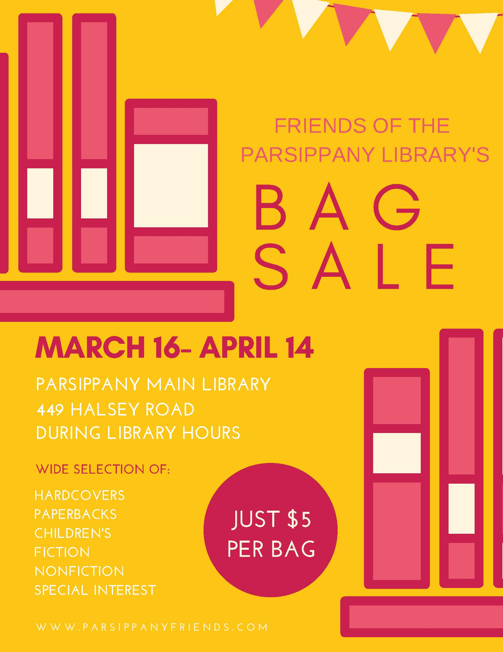 Friends of the Library bag sale2