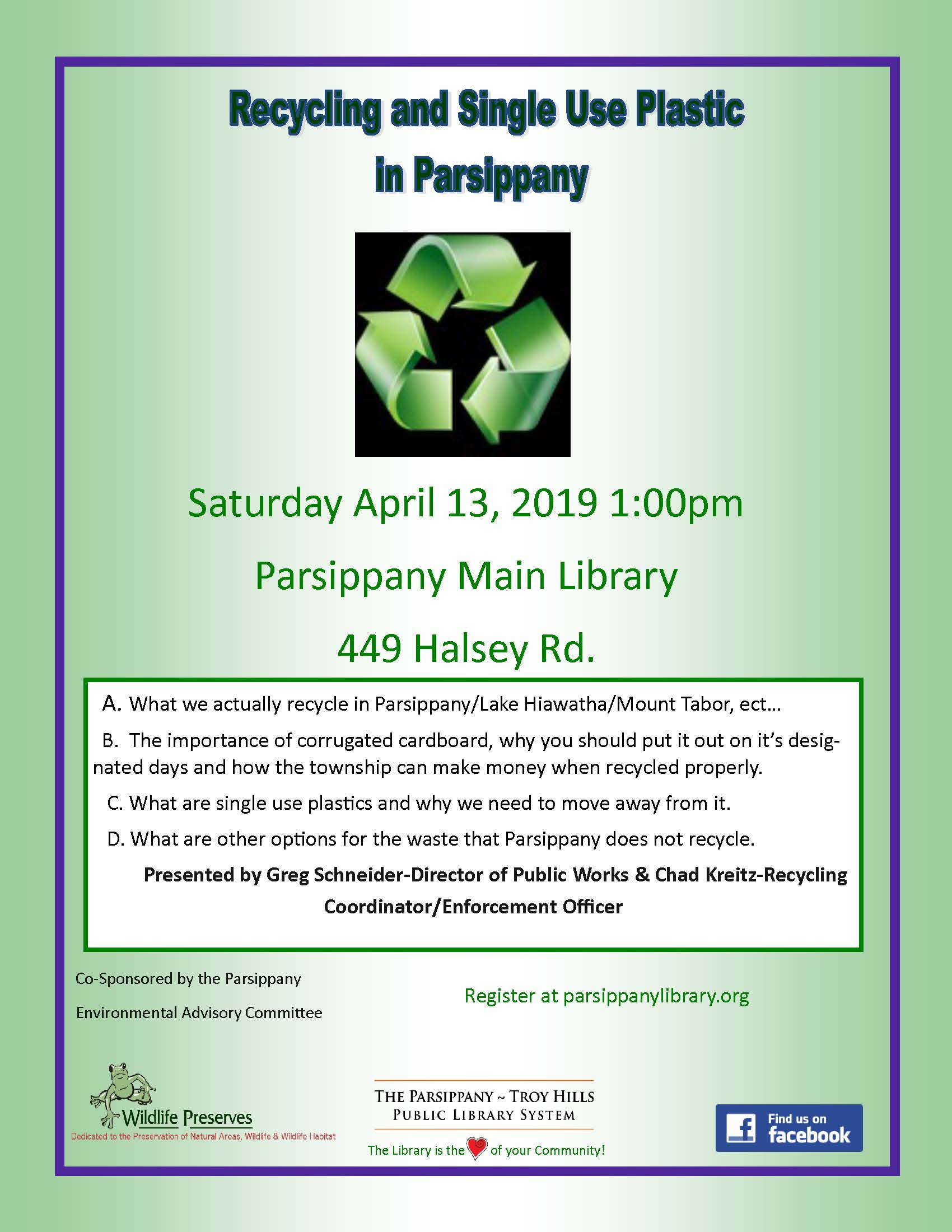 Recycle in Parsippany